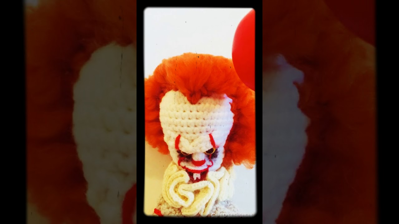 Pennywise The Dancing Clown Amigurumi Youtube
