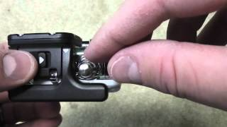 how to open a gopro hd hero 3 camera
