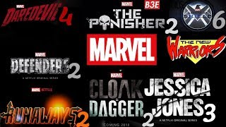Upcoming MCU TV Shows (Marvel Cinematic Universe) Updated