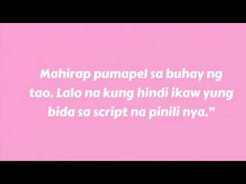 HUGOT WORDS From BOB ONG (Tagalog Love Lines)