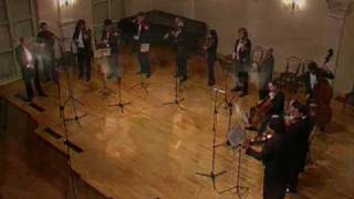 Bartok Divertimento played by I Solisti Di Zagreb, 1st movement