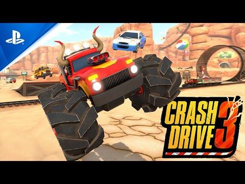 Crash Drive 3 - Announcement Trailer I PS5, PS4