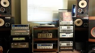 Goa Trance on Vintage Stereo Equipment(Marantz-JBL