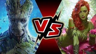 Groot VS Poison Ivy | BATTLE ARENA
