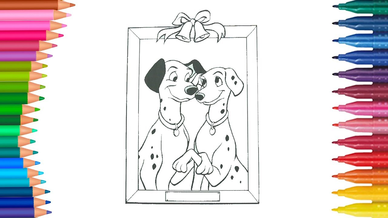 101 Dalmatians Coloring Page Little Hands Coloring Book