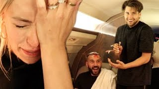 I CAN'T BELIEVE THIS HAPPENED ON AN AIRPLANE!!