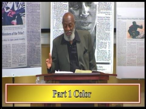 "IOG Bible Speaks - ""Black History Series - Part 1 - COLOR"""