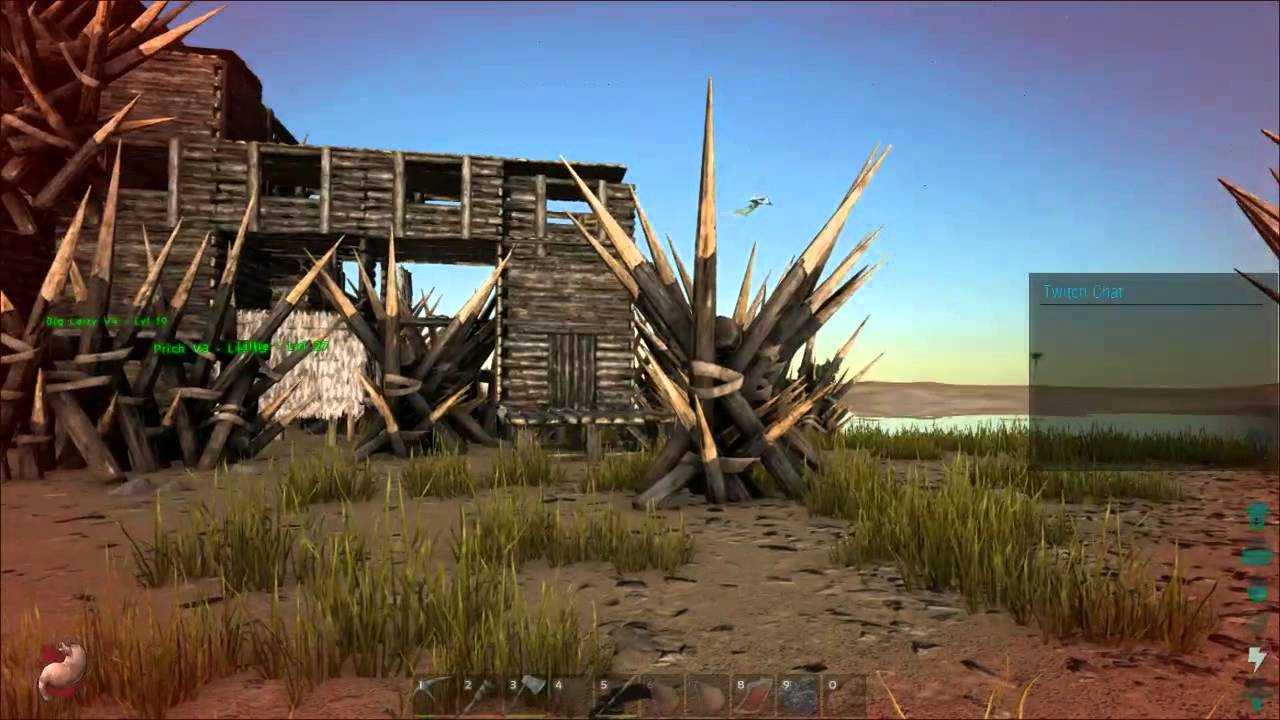 ARK: Survival Evolved   Lassieu0027s Epic Treehouse! :D   YouTube