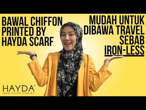 Benang Hijau Royal Satin Series Square Scarf Tutorial 4 from YouTube · Duration:  28 seconds