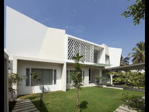 11,000 sq.ft Gleam Home in Tirupur by Arun & Associates