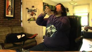 Jesse Romine - 64 OZ Chug - Naked Juice - Green Machine - Call Out Fail Video * Vomit Alert *