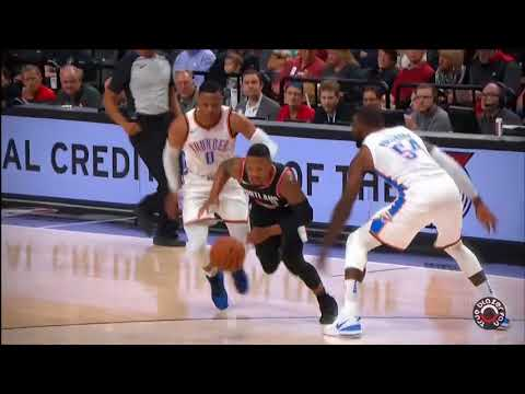 Portland Trail Blazers vs Oklahoma City Thunder - Full Game Highlights - November 5, 2017