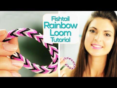 Fishtail Rainbow Loom Bracelets With Sarah! #17NailedIt