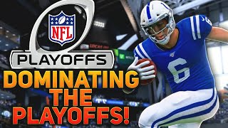 DOMINATING THE PLAYOFFS! Madden 20 Face Of the Franchise