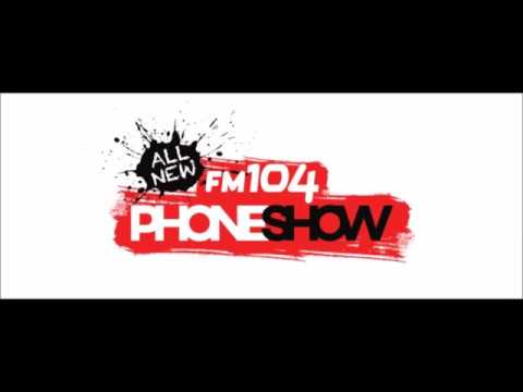 """Dublin Taxi Drivers on air with """"The FM104 phone show"""""""