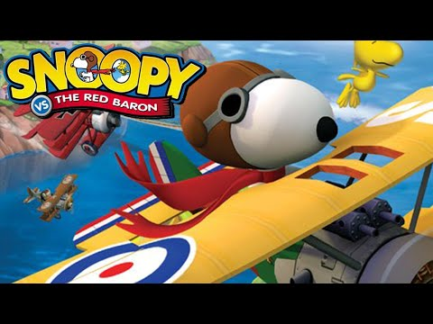 Snoopy VS The Red Baron | Liam Triforce