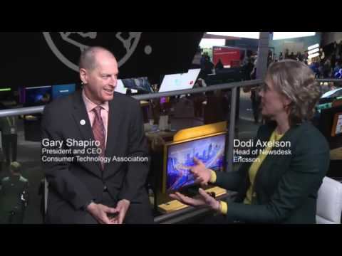 CES 2017: Gary Shapiro, CEO of the Consumer Technology Association, and host of CES 2017