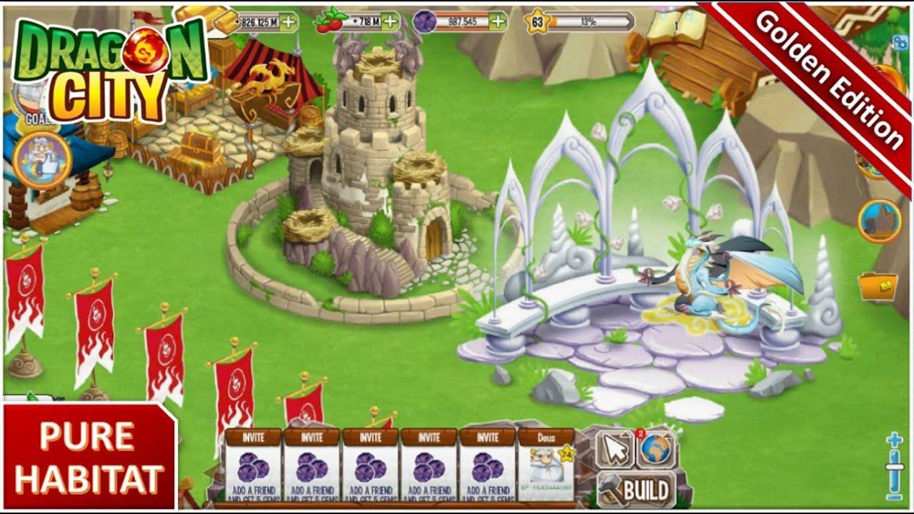 Dragon City Unlock Pure Habitat No Hack Youtube