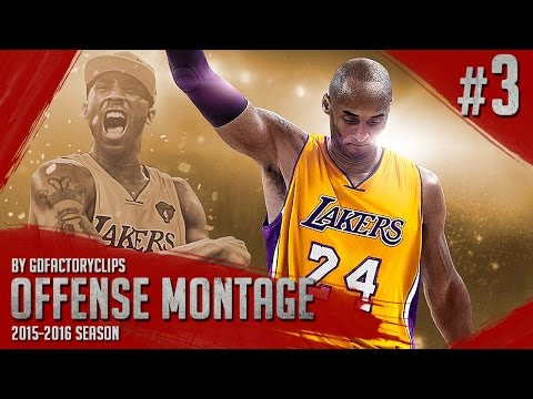Kobe Bryant Offense Highlights Montage 2015/2016 (Part 3) - Kobe's Farewell, GREATNESS!