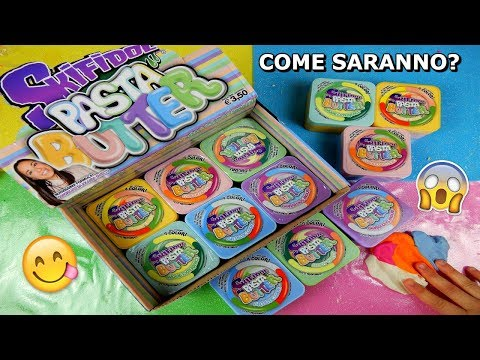APRO I NUOVI SKIFIDOL PASTA BUTTER! (NUOVI COLORI 4 IN 1) COME SARANNO? Iolanda Sweets