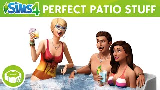 The Sims 4 Perfect Patio Stuff: Official Trailer