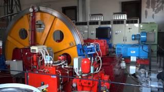 cable car engine room / Maschinenraum der Drahtseilbahn in Brunate (Como)
