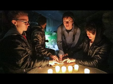 OVERNIGHT AT SUICIDE BRIDGE! (OUIJA BOARD SUMMONS DEMON!!)