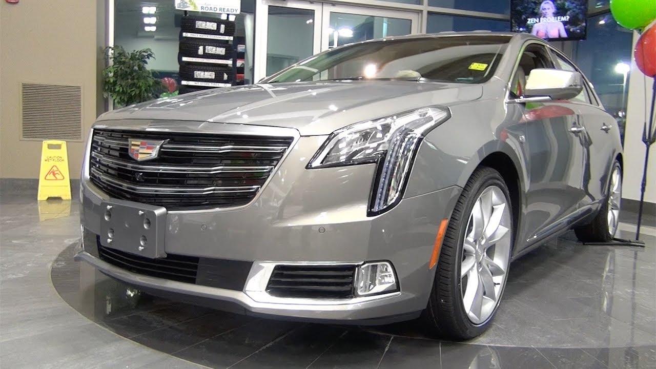 2018 Cadillac Xts Premium Luxury Awd Bronze Dune Youtube