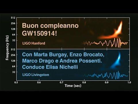 Happy birthday GW150914!