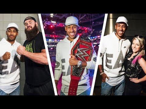 Aubameyang as WWE