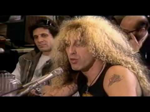 Dee Snider vs Tipper Gore 1984