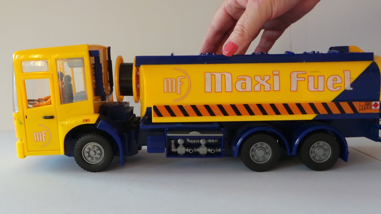 mercedes benz econic fuel tanker truck toy youtube