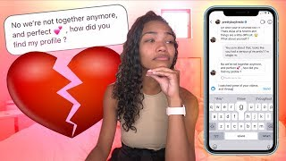 CATFISHING My Boyfriend To See If He CHEATS LEADS TO REAL BREAKUP 💔😭