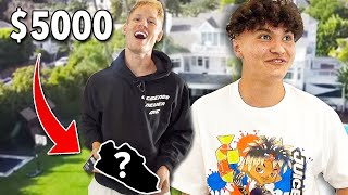 Surprising The FaZe House With $5000 SHOES!!
