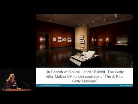 LED Lighting in Today's Museums: Naomi Miller