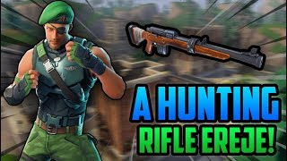"THE HUNTING RIFLE MASTER ONCE AGAIN! | New ""Garrison"" SKIN! (Fortnite Highlights #2)"