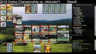 Dominion Online Championship 2018 vs. nikkicola11