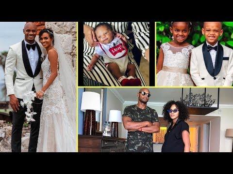 Asafa Powell & Wife Alyshia Finally Showed Their B@by Boy Amieke To Fans