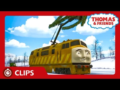 How Diesel 10 Stole Christmas | Steam Team Holidays | Thomas & Friends