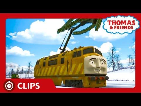 Get Christmas Train Cartoon Movie Pics