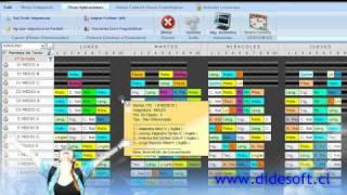 DHD 5 0 Diseño de Horario