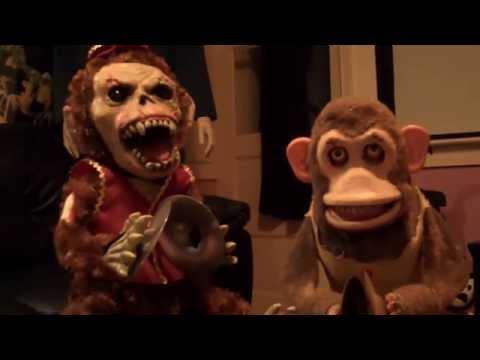 Creepy Musical Jolly Chimp Toy