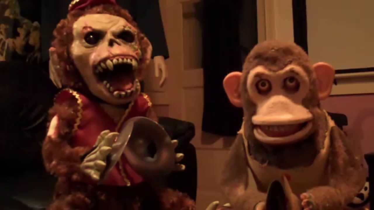 Creepy Musical Jolly Chimp Toy Youtube