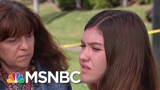 Florida Student After Shooting: I Don't Think There's Anything Trump Can Do | Velshi & Ruhle | MSNBC