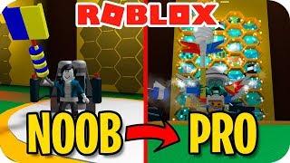 NOOB VS PRO! COMMENT À ÊTRE PRO EN ROBLOX BEE SWARM - exo