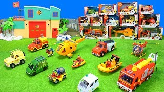 Feuerwehrmann Sam Feuerwehrautos: Feuerwehr Unboxing als Spielzeugfilm für Kinder