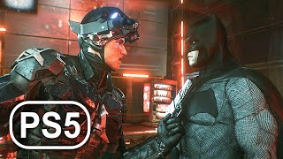 BATMAN PS5 ARKHAM KNIGHT Final Boss Fight & Ending 4K ULTRA HD