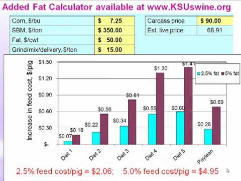 Dr. Joel DeRouchey - The Impact of Pig Weight Variation on Marginal Feed Cost