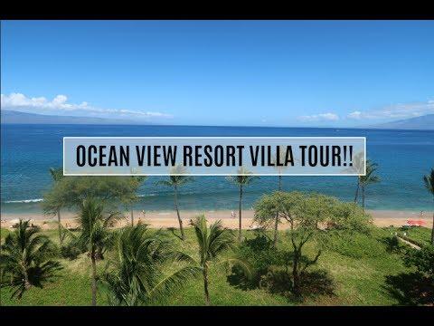 Ocean Front Deluxe Tour!! Westin Ka'anapali Ocean Resort Villas