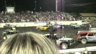 Demolition Derby Yolo County Fair 2012